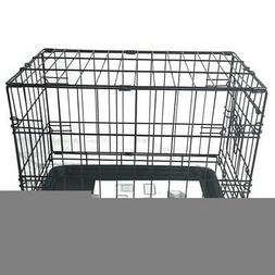 20 cat dog crate kennel folding metal