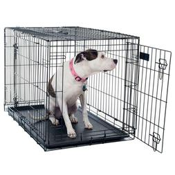 36 in. x 23 in. Dog Crate Portable Metal Pet Cage /  Petmake