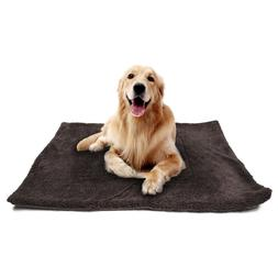 Pet Bed for Dog Cat Crate Mat Soft Warm Pad Home Indoor Outd