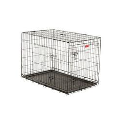 """42""""L Lucky Dog Training Crate, 2-DR"""