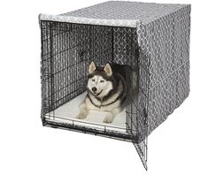 """48"""" Extra Large Giant Breed Dog Crate Kennel XL Pet Wire Cag"""