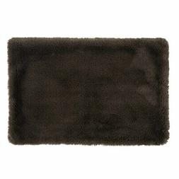 DII Bone Dry Faux Fur Silky Soft Small Pet Cage Liner for Do