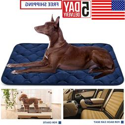 Dog Bed Large Washable Crate Mattress 65*90cm Soft Non Slip