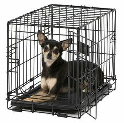 MidWest Homes for Pets Dog Crate iCrate Single Door & Double