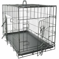 Dog Crate Kennel Cage for Pet Plastic Pad Pan Soft Cozy Hous