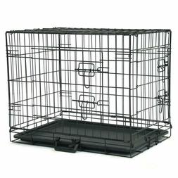 dog crate kennel folding metal pet cage