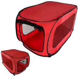 Dog Crate Kennel Portable Soft Collapsible Folding Pet Trave