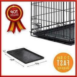 Dog Crate Tray 41x28 Replacement Pan Pet 42 Inch For Kennel