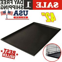 Dog Crate Tray 42 x 28 Replacement Pan Pet 42 Inch For Kenne
