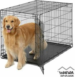 Dog Homes Crate Cage -Single Door Folding High Super Quality