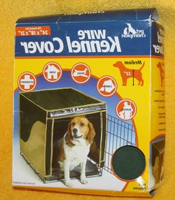 """Dog Kennel Crate Cover - Pet Champion - 24"""" Medium - Green"""