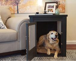 Dog Kennel End Table Crate For Extra Large Dogs XL Indoor Wo