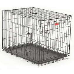 """Lucky Dog Double Door Dog Training Crate, 24""""W x 27""""H x 36""""L"""