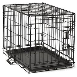 ProSelect Easy Dog Crates for Dogs and Pets - Black;  Small,