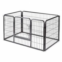 Extra Large 4 Sided Heavy Duty Pet Puppy Playpen Crate Pen W