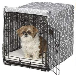 MidWest Homes For Pets Dog Crate Cover with Fabric Protecto