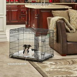 MidWest Homes for Pets Dog Crate   iCrate Single Door & Doub