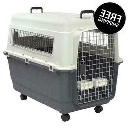 Kennels Direct Premium Plastic Dog Kennel And Travel Crate ,