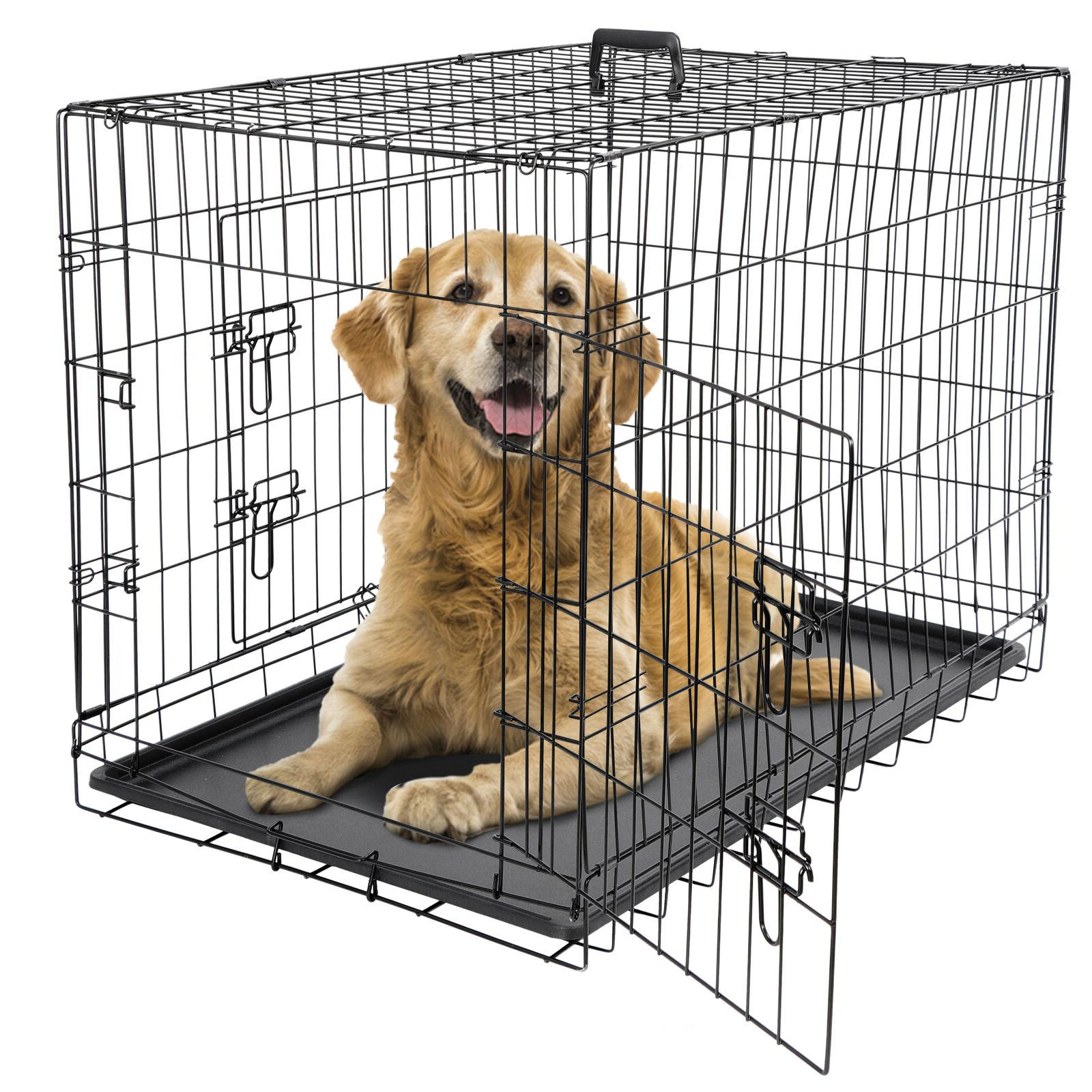 24 36 42 dog crate kennel folding