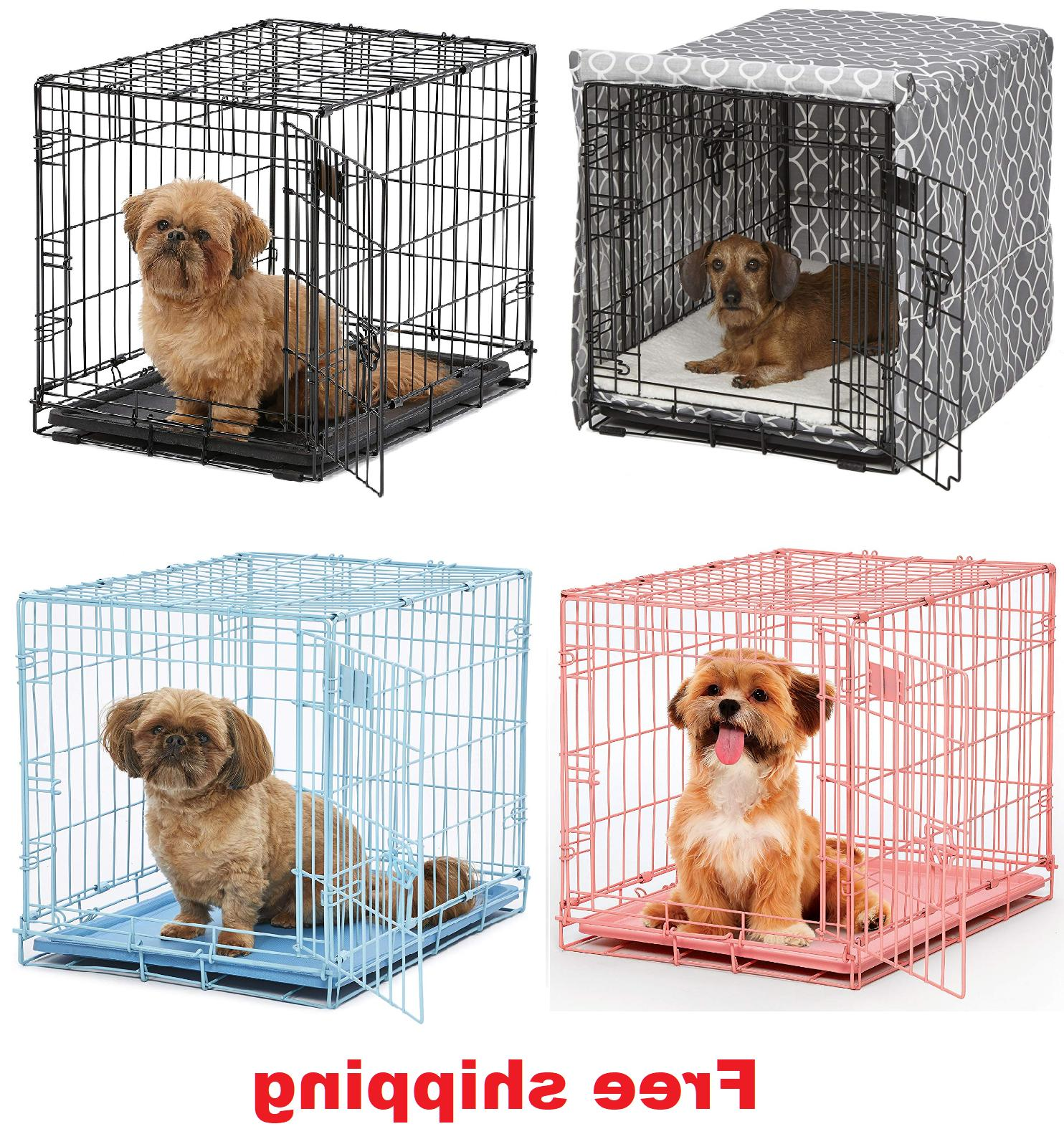 24 pet dog cat crate kennel cage