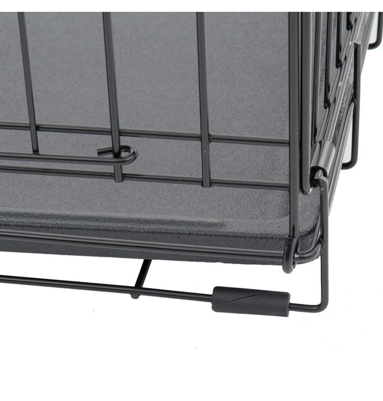 """30""""L Lucky Black Wire 2 Training Crate"""