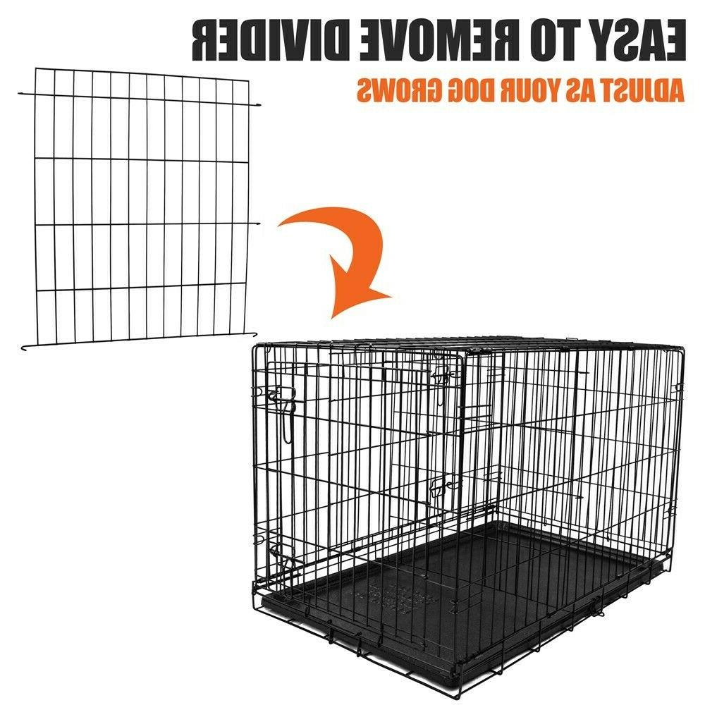 36 Strong Double-Door Folding Wire Dog