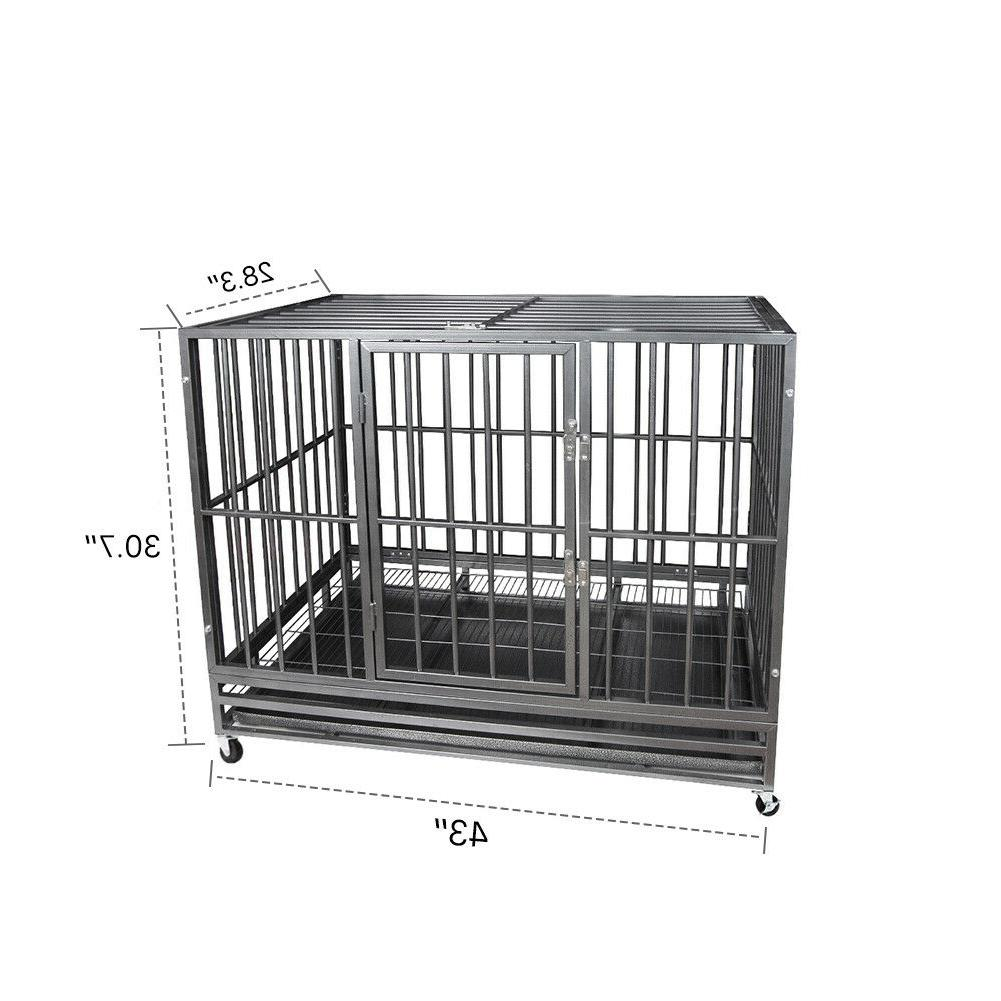 "42"" Heavy Dog Crate Playpen"