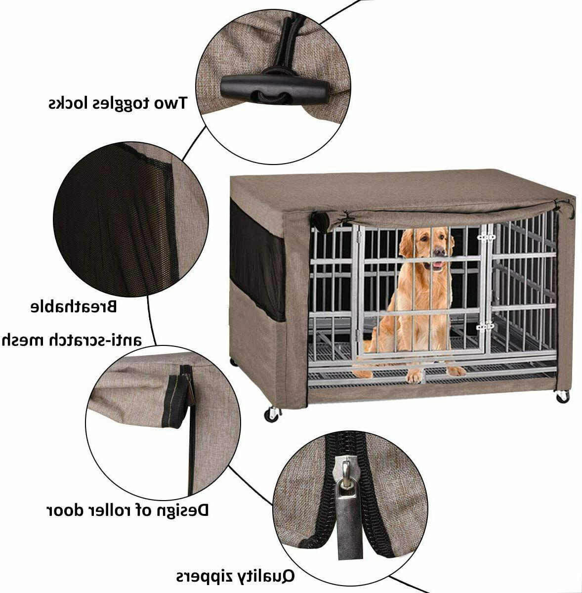 """49"""" Extra Giant Breed Dog Crate Kennel XL Pet Wire Huge"""