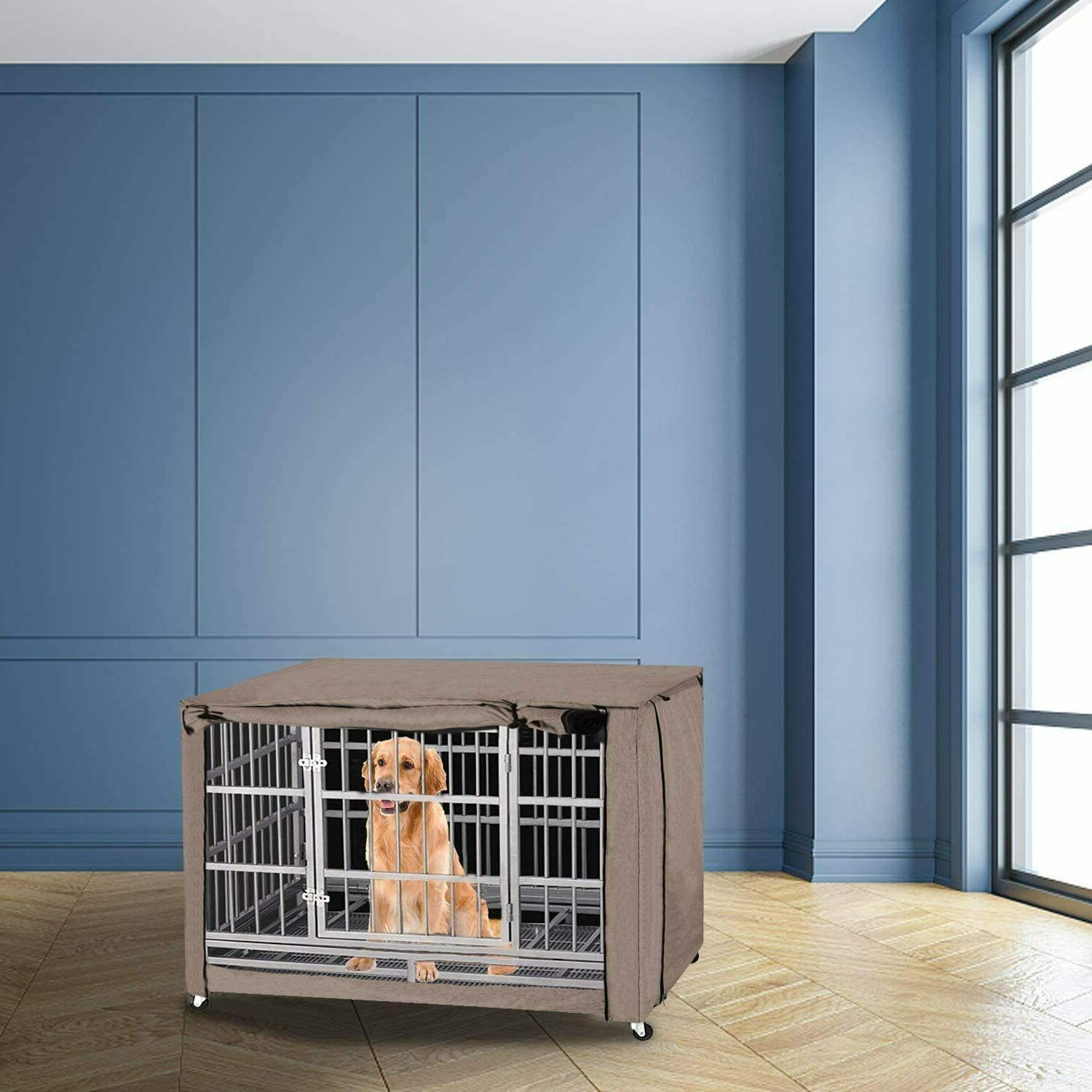 """49"""" Extra Large Breed Crate Kennel Huge"""