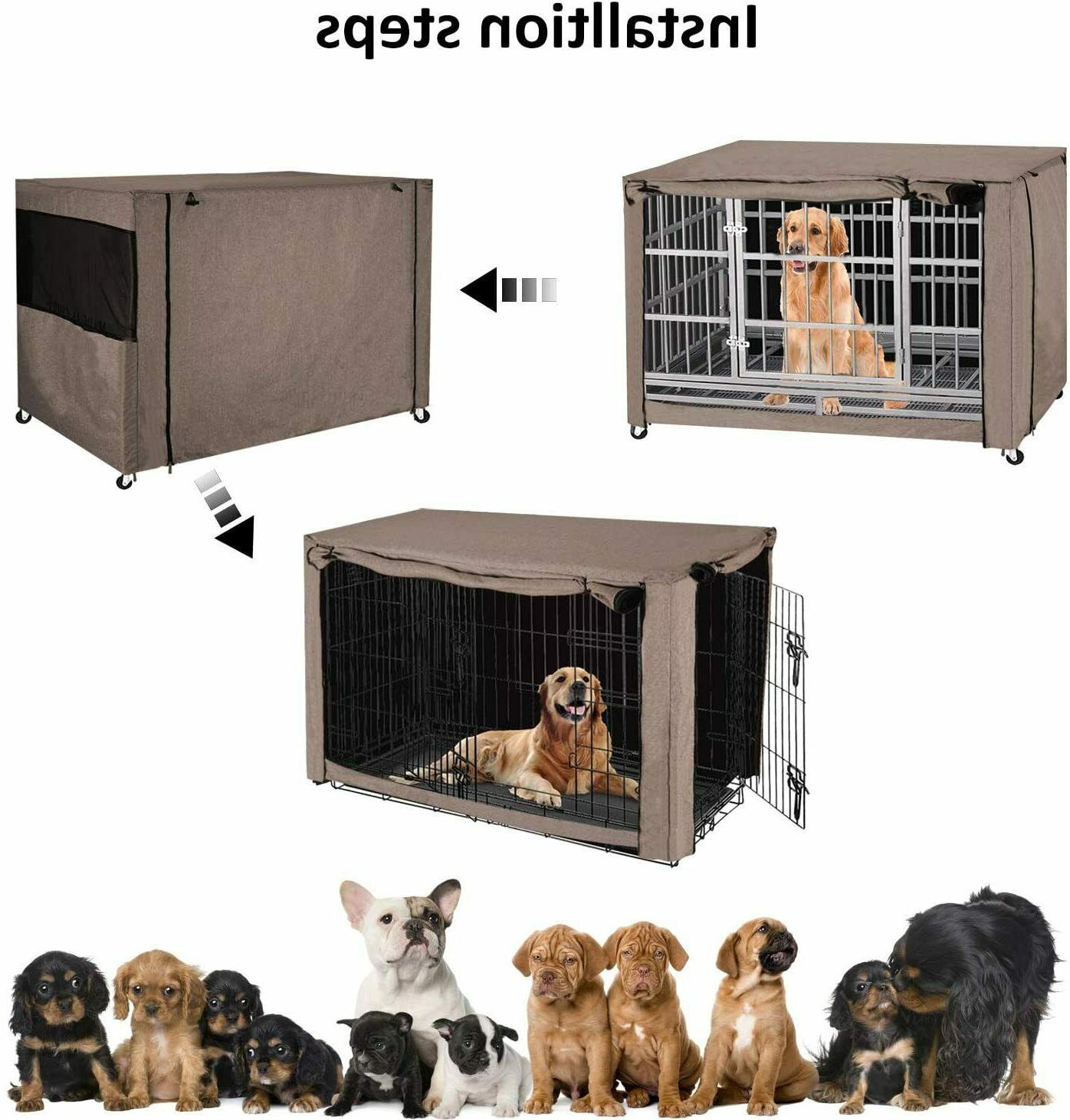 """49"""" Breed XL Pet Wire Huge Folding Cover"""