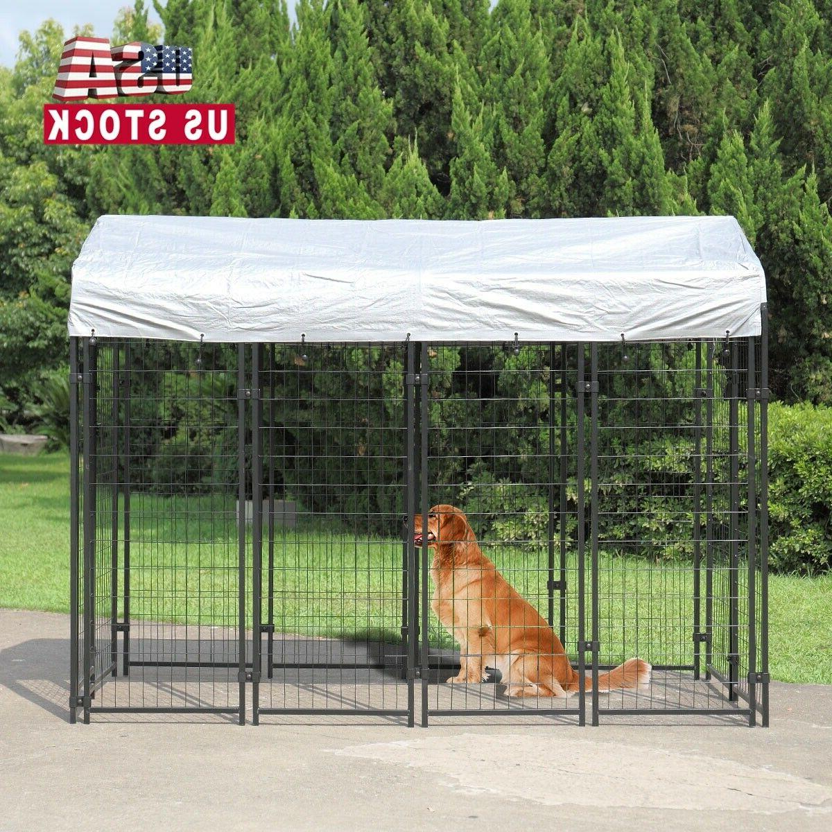 71 h outdoor dog kennel dog crate