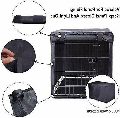 Black Crate for 36 48 Inches Wire Dog Cage,Pet