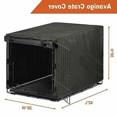 Black Dog Crate for 48 Wire Dog
