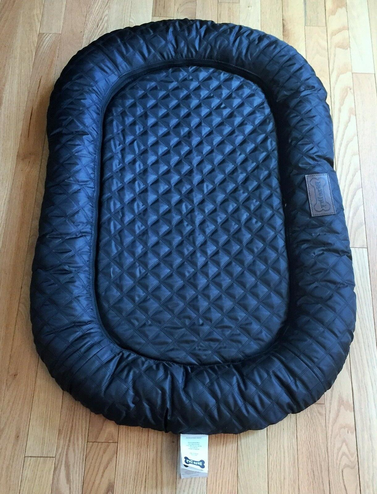 cushioned pet bed for dogs or cats