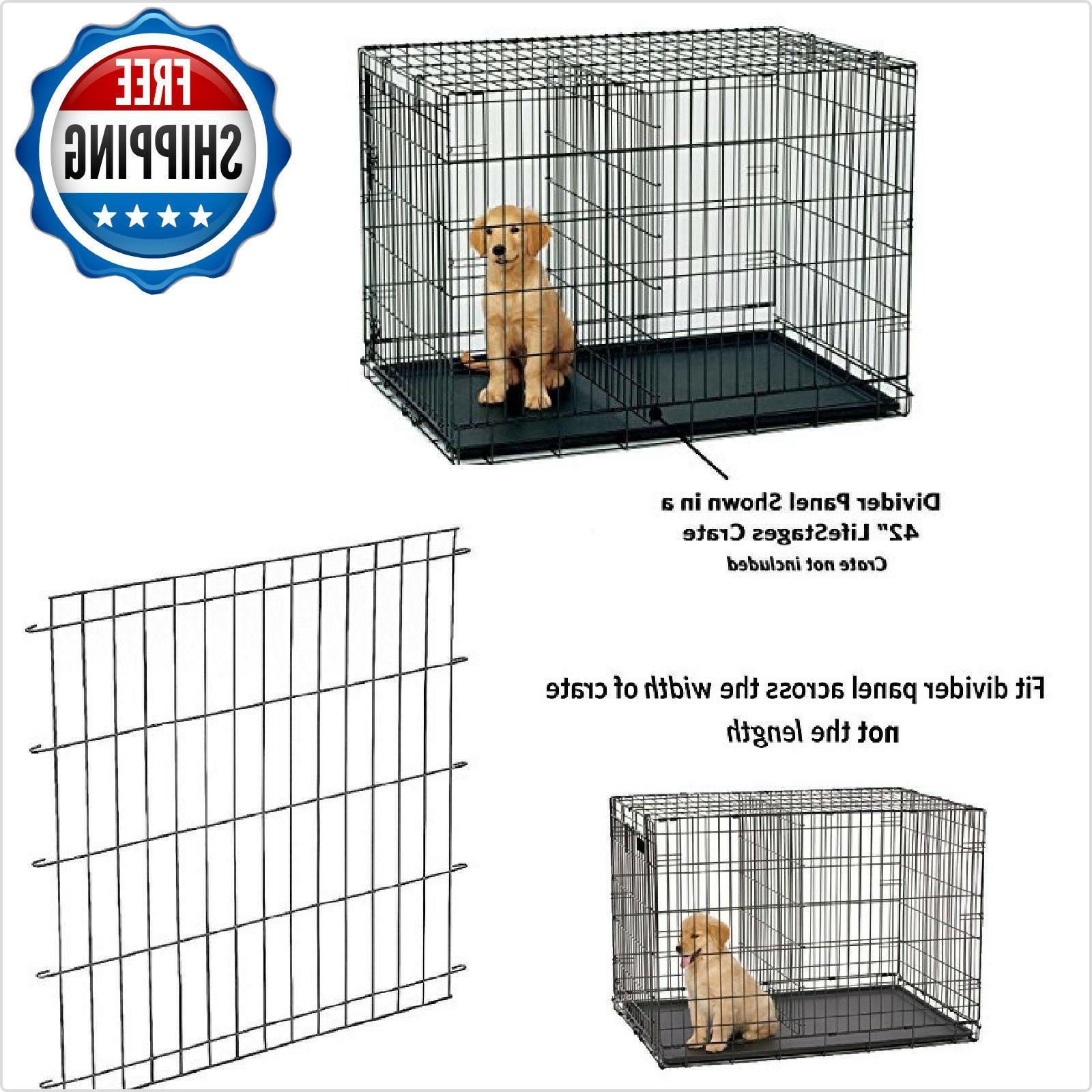 Divider Panel For Big Dog Kennel Cage X Pet Extra Large 54in