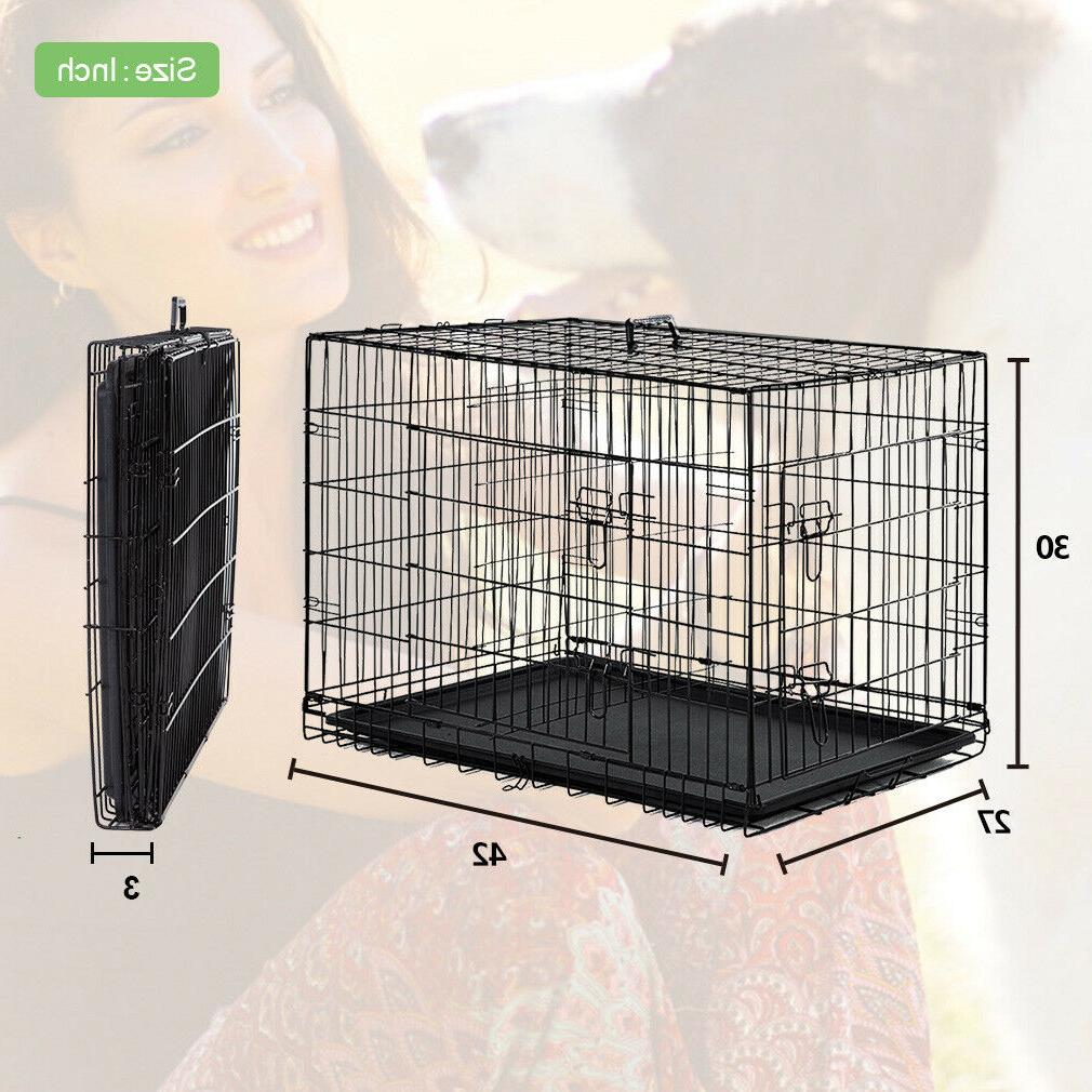 Dog Double Cage Pet