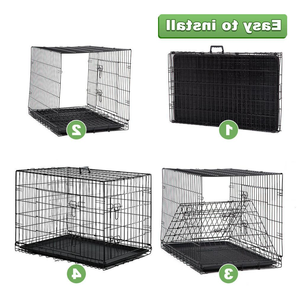 Dog Crate Extra Double Cage Pet