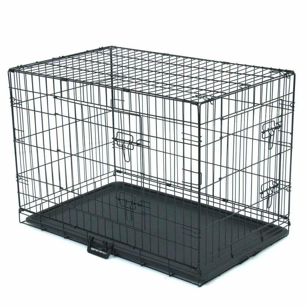 Dog Crate Metal Cage Door 42