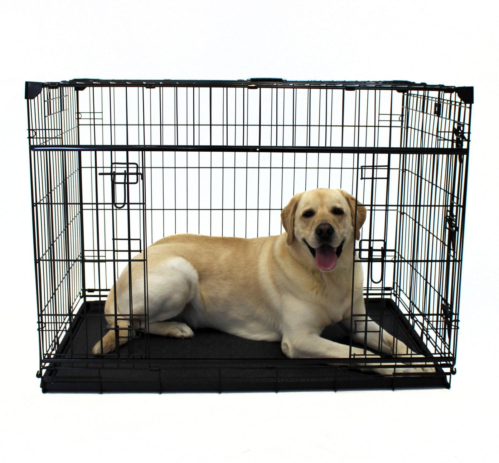 dog crate kennel x large 48 l