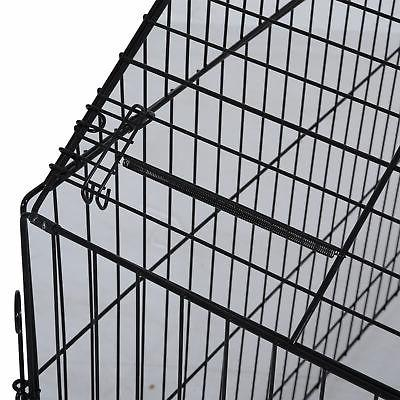 Outdoor Kennel Crate Enclosure Playpen Cage House w/Cover