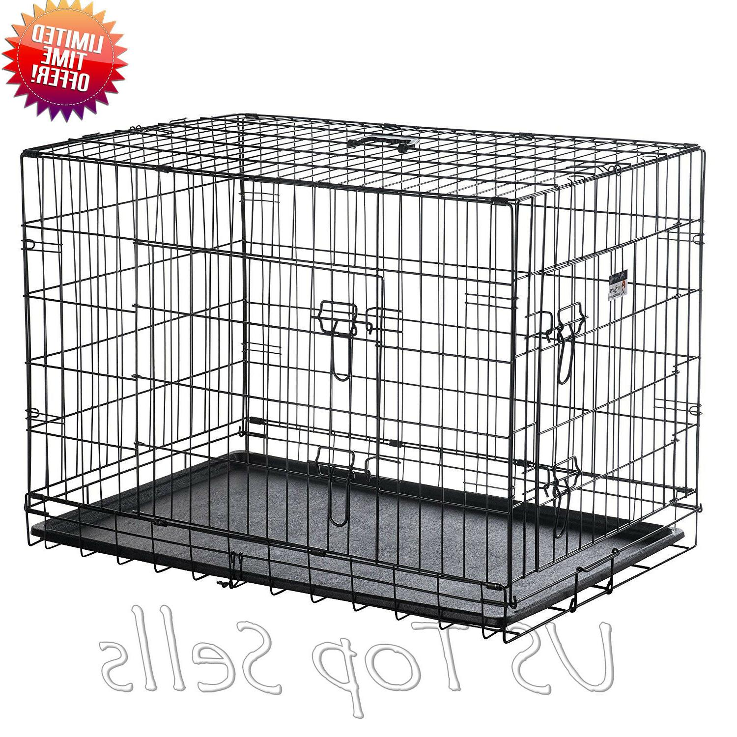 Extra Crate Kennel Cage Doors Tray Pan
