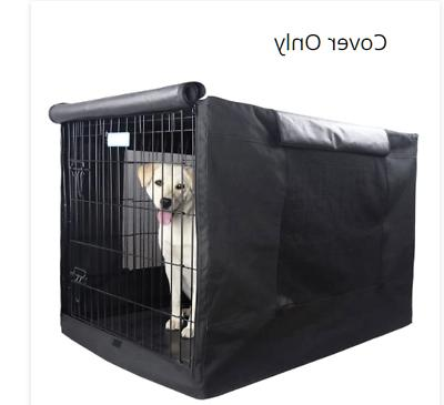Extra Large Dog Crate Cover Kennel XL Pet Wire Cage Huge Fol