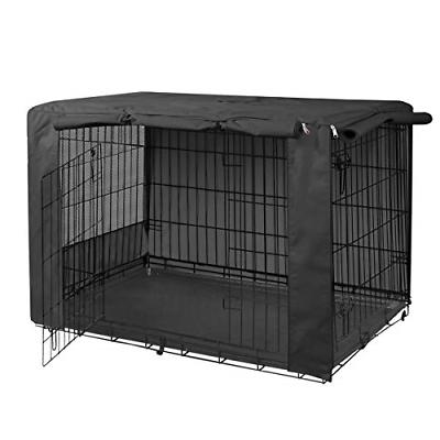 folding metal dog crate cover for 36