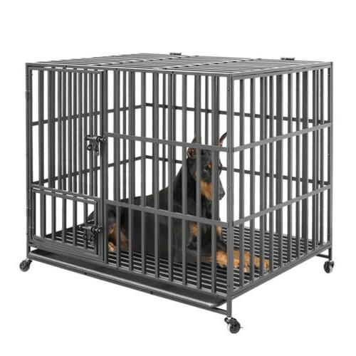 Giant Dog Metal Playpen Dogs w/Tray