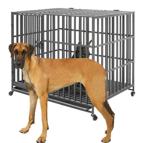 giant dog crate strong metal military pet