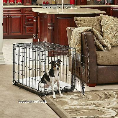 Dog Crate iCrate and Folding Metal