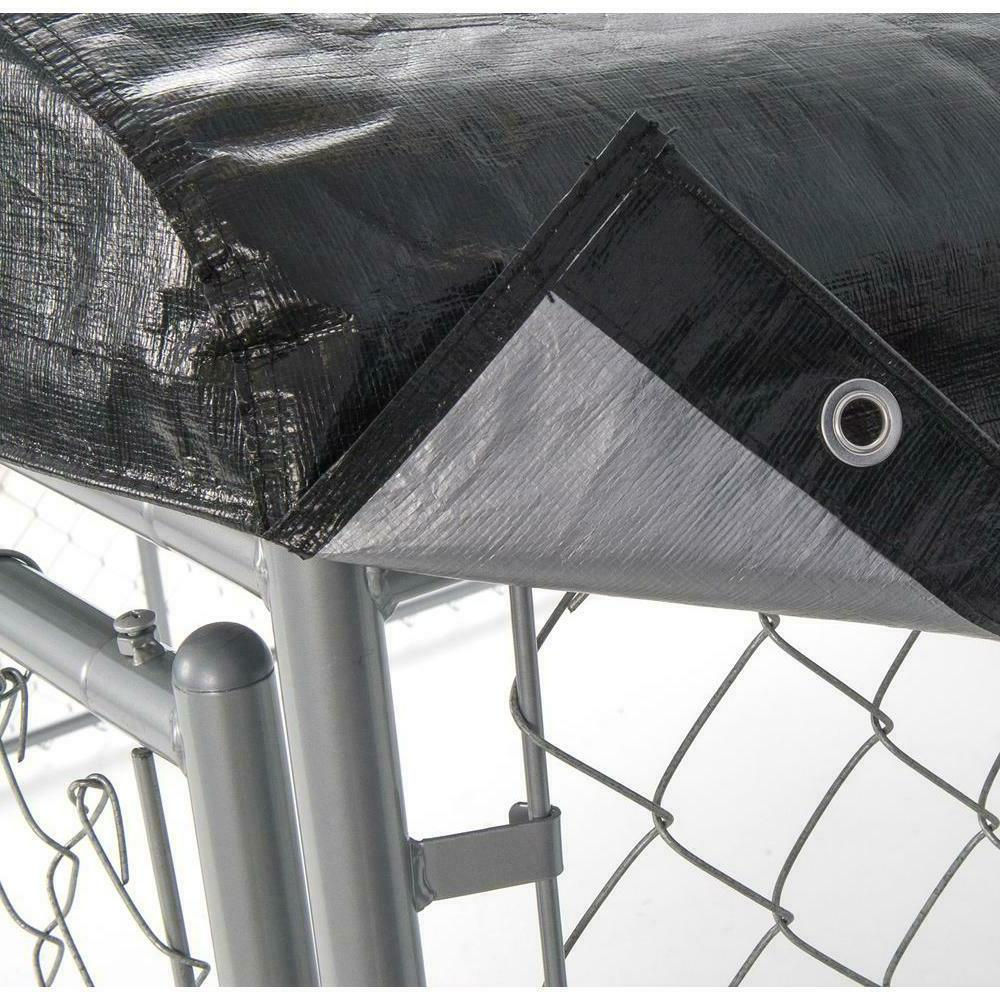 LUCKY Dog Frame Set Weatherproof Roof Cage 10x10 ft