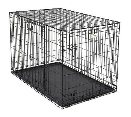 ovation double door crate with swing up