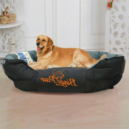 Overstuffed Sofa Extra Pet Bed Washable XXL