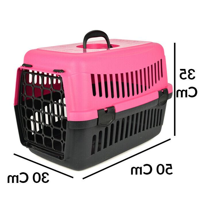 Pet Carrier Travel Cat Small 2 Piece Hard Portable